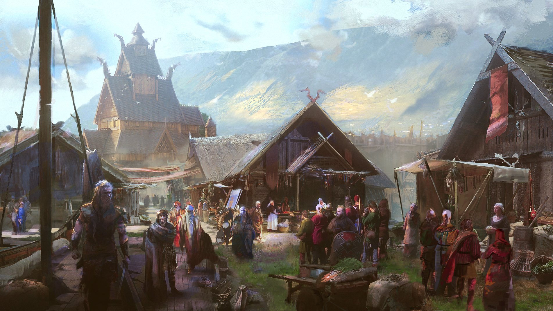 Assassin's Creed Valhalla - Offizielle Concept Arts
